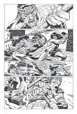 Dark Horse Comics Conan #15 Conan's Favorite Joke page 2 by Bruce Timm