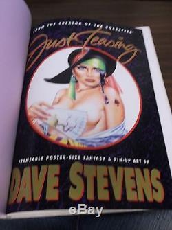 Dave STEVENS - Just Teasing - 1991 Ursus - SIGNED / NUMBERED Limited HC Oop