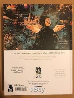 David Mack KABUKI Library Volume 4 signed w original painting art