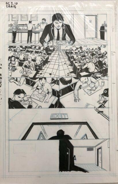 Deadly Class Rick Remender Original Comic Art Interior #2 Page 10 Wes Craig Hot