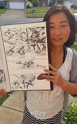 Deadpool Kills the Marvel Universe Original Comic Art Pg 11 Issue #4 Taskmaster