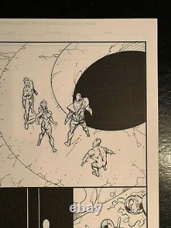 Deathstroke #10, page 8 original art, Rob Liefeld (2012)