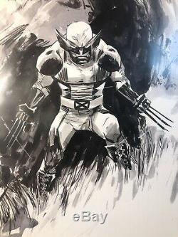 Declan Shalvey Original Art Sketch Wolverine Xmen Marvel Avengers Moon Knight