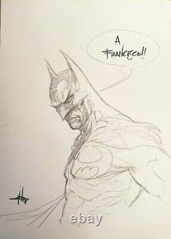 Dell'Otto Batman Sketch ORIGINAL ART ORIGINALZEICHNUNG