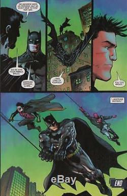 Denys Cowan/ Klaus Janson-batman, Robin, Superman Orig. Ink Art! Free Shipping