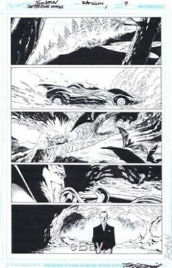 Detective Comics #1 p. 9 Tony Daniel Batman Original Comic Art DC Comics