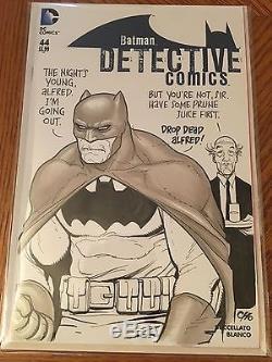 Detective Comics #44 Frank Cho Batman Hand Drawn Sketch Cover