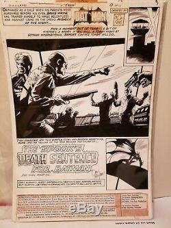 Detective Comics 488 1980 full 17 Page Batman Story Don Newton art