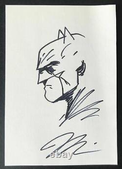 Detective Comics Batman Original Art Hand Drawn Sketch Legendary Artist Jim Lee