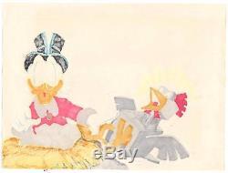 Disney Don Rosa Art Original HAND DRAWN Donald Duck & Scrooge Return Plain Awful