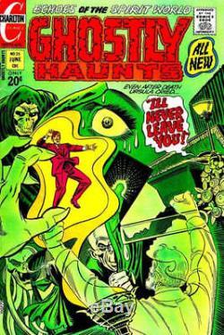 Ditko, Steve GHOSTLY HAUNTS 25 COVER Large Original Art (1971) CLASSIC HORROR