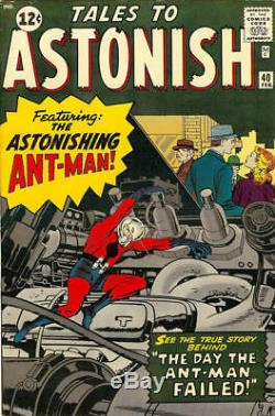 Ditko, Steve Tales To Astonish 40 Title Splash Pg 1 Original Art (1962)