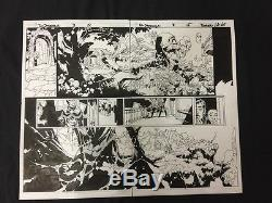 Doctor Strange #3 Pages 14 & 15 Original Comic Art- Al Vey Chris Bachalo