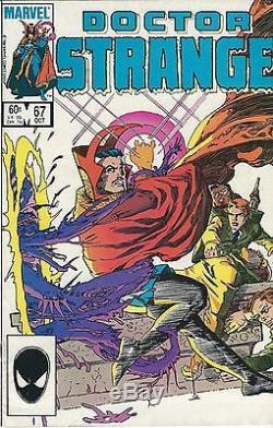 Doctor Strange 67 Original Cover Art 1984
