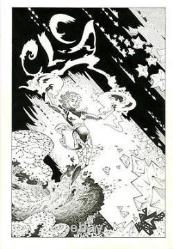 Doctor Strange's Clea P Craig Russell Original Comic Art Kickstarter Reward 2015