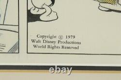 Donald Duck Original Art Newspaper Comic Strip Panel Disney 1979 King Features
