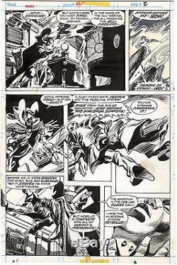 Dr. Strange Tomb of Dracula #44 Original Art 1/3rd Splash by Gene Colan