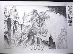 Esteban Maroto Conan (Commission) ORIGINAL ART ORIGINALZEICHNUNG