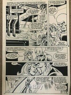 Eternals Original Art Page Issue #9 Pg #8 Sal Buscema Art