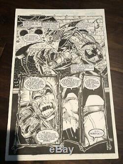 Ethan Van Sciver Cyberfrog Original Art Reservoir Frog #1 Pg20 #comicsgate