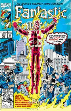 FANTASTIC FOUR #372 Pg 22 ORIGINAL ART Spider-Man HUMAN TORCH Paul Ryan BULANADI