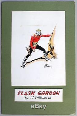 FLASH GORDON Painting by EC Artist Al Williamson, 1960s