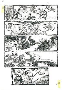 FRANK MILLER -RONIN- #1 Key Page VS Agat ORIGINAL COMIC ART