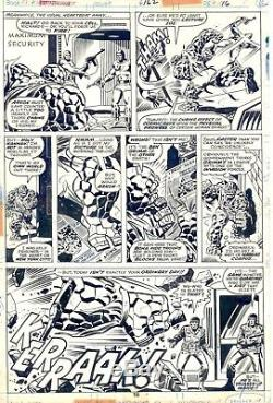 Fantastic Four #162 pg 16 by Rich Buckler and Joe Sinnott