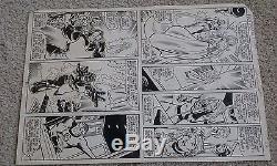 Fantastic Four #230 pg. 22 Sienkiewicz Sinnott Original Comic Art