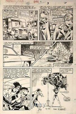 Fantastic Four 292 Page John Byrne Marvel 1986