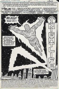 Fantastic Four Annual #13 Original Splash Art by Sal Buscema 1978