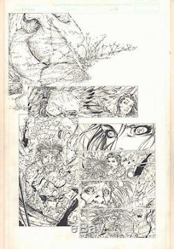 Fathom #11 p. 13 Aspen Matthews and Baha 2000 art by Michael Turner