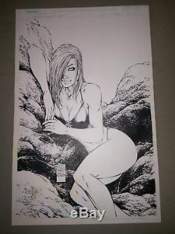 Fathom Swimsuit Special 2000 Michael Turner original cover art