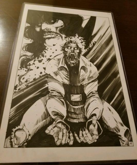 Five Ghosts Original Comic Art / Image Comics