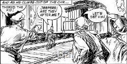 Frank Godwin RUSTY RILEY Original Sunday Strip Comic Art 1959