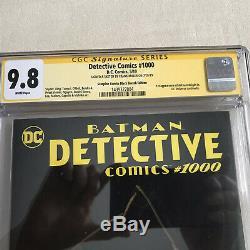 Frank Miller Original Art Sketch Of Batman Detective Comics #1000 CGC 9.8 SS