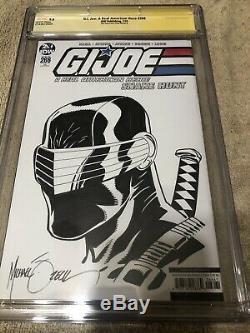 G. I. Joe 266 CGC SS 9.8 Mike Zeck Snake Eyes Original art sketch 2019 Variant