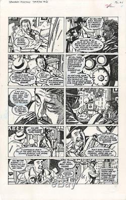 GUY DAVIS Sandman Mystery Theatre #61 p21 ORIGINAL COMIC ART