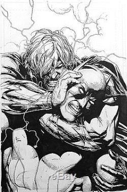 Gary Frank Batman Forever Evil Cover Original Comic Art #7