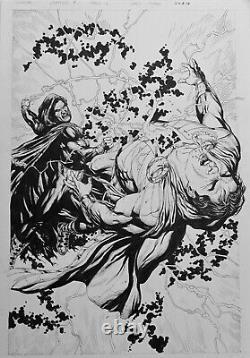 Gary Frank JLA #16, Shazam page 4. Black Adam