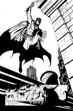 Gary Frank & Jonathan Sibal Batman Earth One Original Comic Art p54