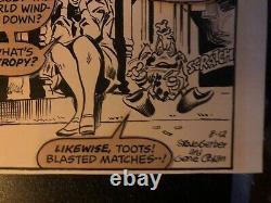 Gene Colan Howard The Duck Original Daily Strip 8/12/1977 Bronze Age