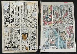 George Perez 1984 Teen Titans #41 Page 5 Original Art Page