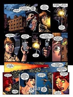 George Perez Signed 2011 Teen Titans-starfire, Donna Troy-large Original Art