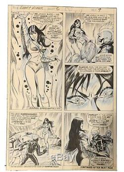 Ghost Rider #2 Page 9 Original Bronze Age Marvel Art. Jim Mooney