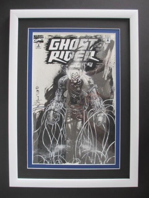 Ghost Rider 2099 #8 Marvel 1994 (original Art) Cover By Chris Bachalo
