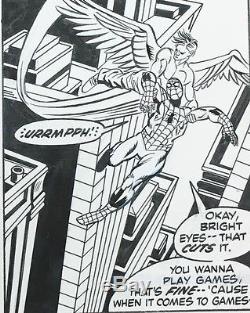 Gil Kane X-Men & Spider-Man art from Marvel Team-Up #4