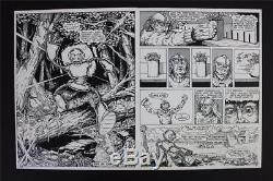 Gobbledygook #1 MASTER PRINTS TMNT Turtles 1 of a KIND! W Original Art Eastman