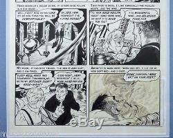 Graham Ingles ORIGINAL ARTWORK TALES FROM CRYPT 41 Page 3 Witch's Cauldron 1954