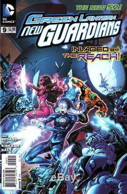 Green Lantern New Guardians, Star Sapphire Cover Art-tyler Kirkham-free Ship